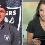 Olympic Gymnast + NFL Tight End = True Love?